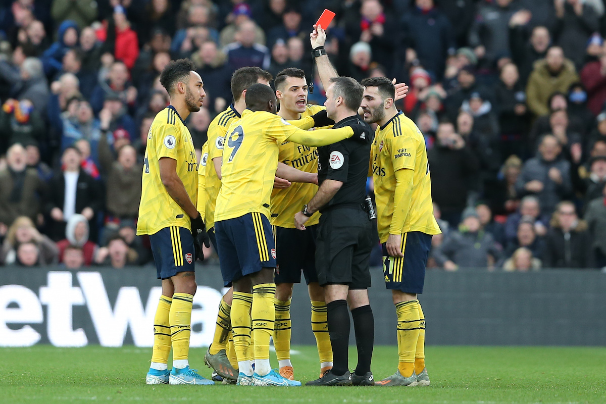 Ten Man Arsenal Take A Point At Palace
