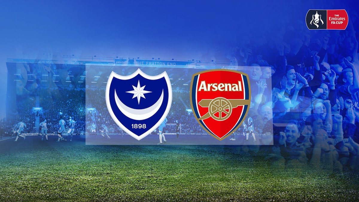 Arsenal return to Fratton Park for the first time in 10 years