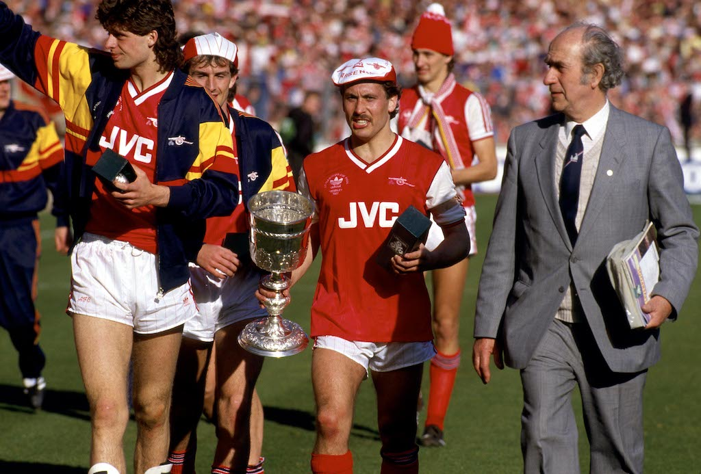 REWIND: Kenny Sansom makes his Arsenal debut on this day in 1980
