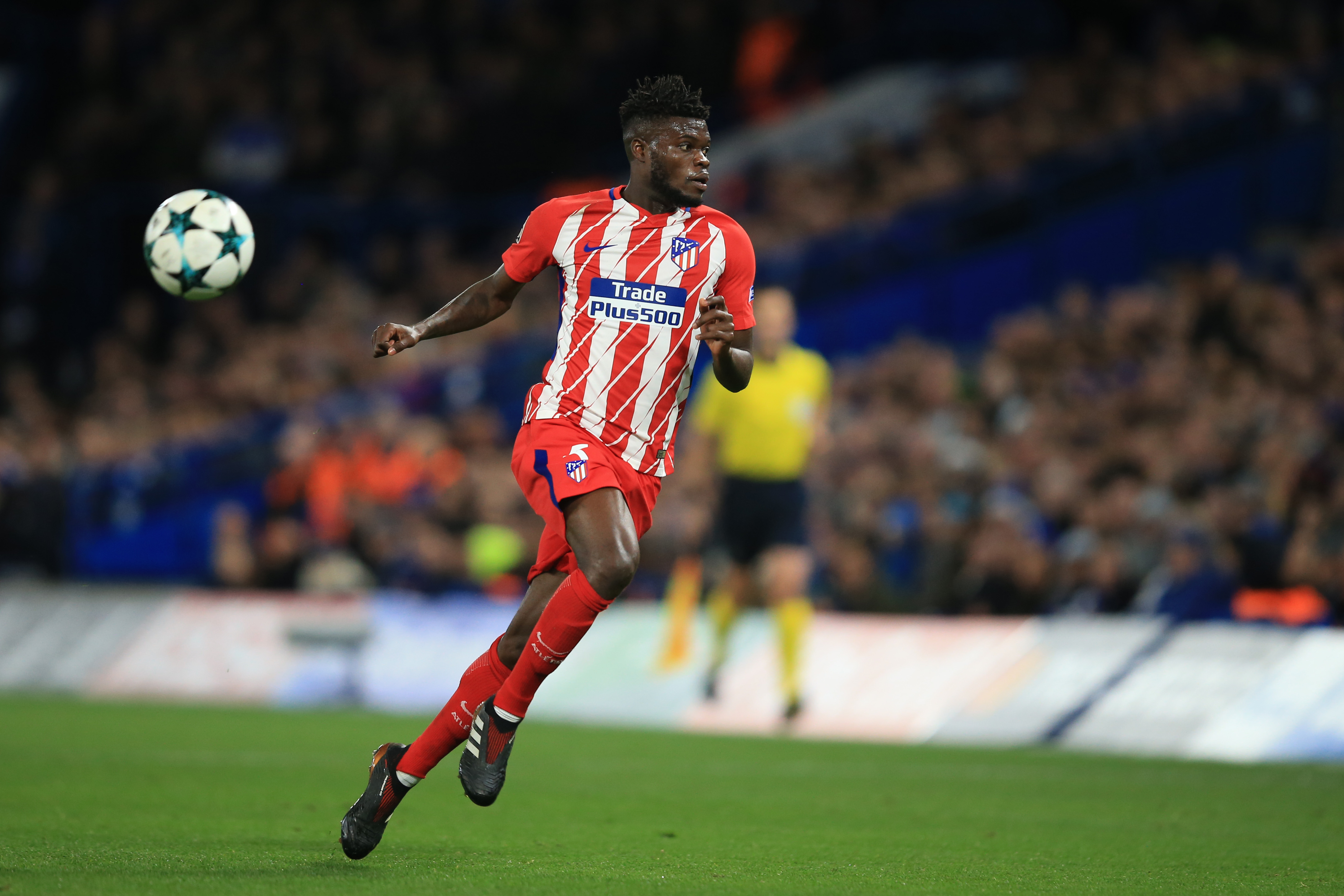 Arsenal make £45m deadline day move for Atletico Madrid star Partey