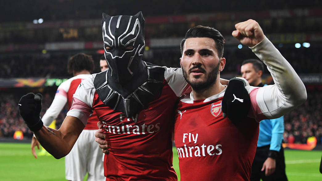 Arsenal Up To The Mask