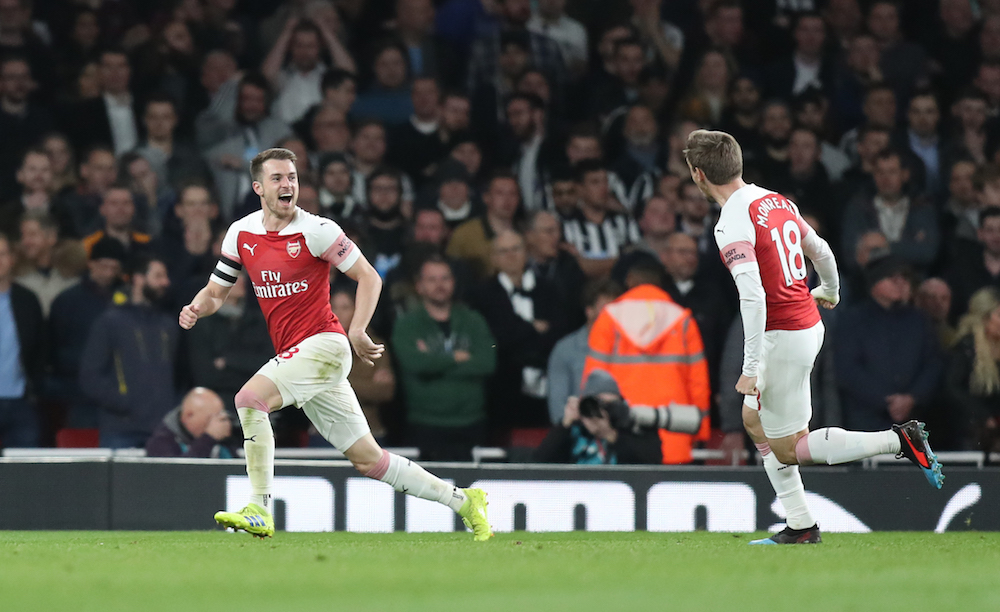Arsenal Leapfrog Spurs To Go Third