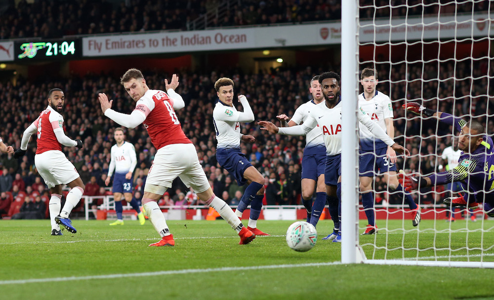 Arsenal Picked Off In Derby Disappointment