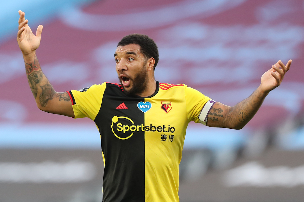 Will Arsenal make the next stop for Troy 'Cojones' Deeney the Championship after Watford's visit to the Emirates?