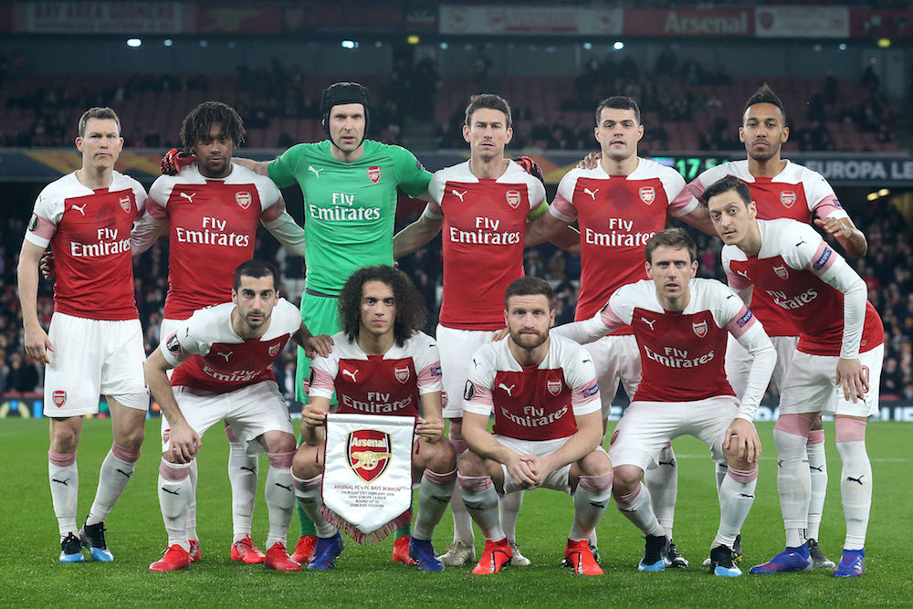Arsenal Do Enough To Make Europa League Last 16