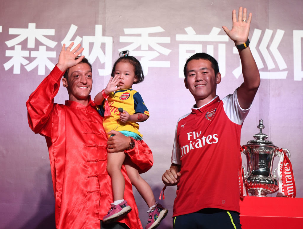 Arsenal and China - Sinners or Sinned Against?