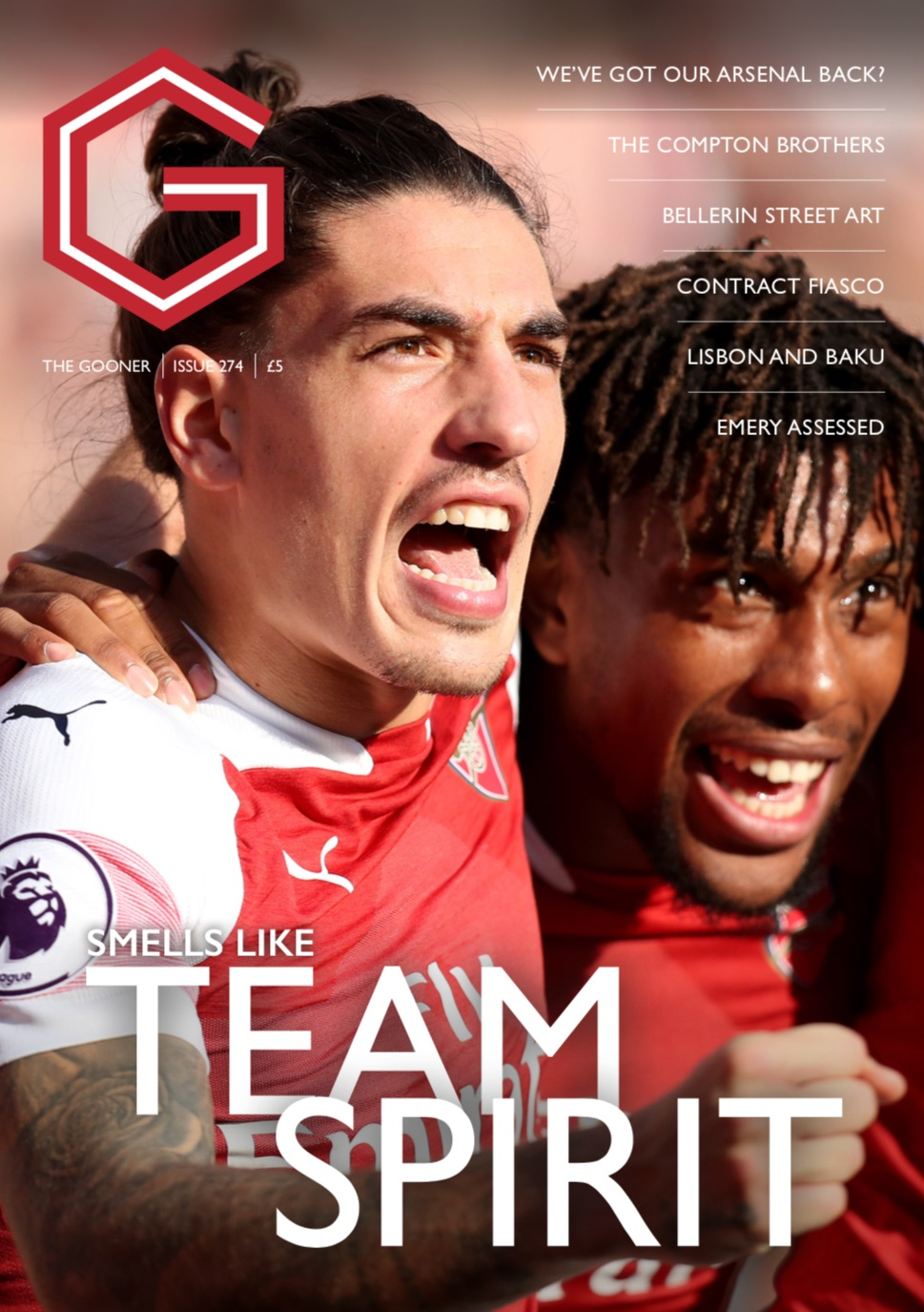 Gooner Issue 274 - Front Cover