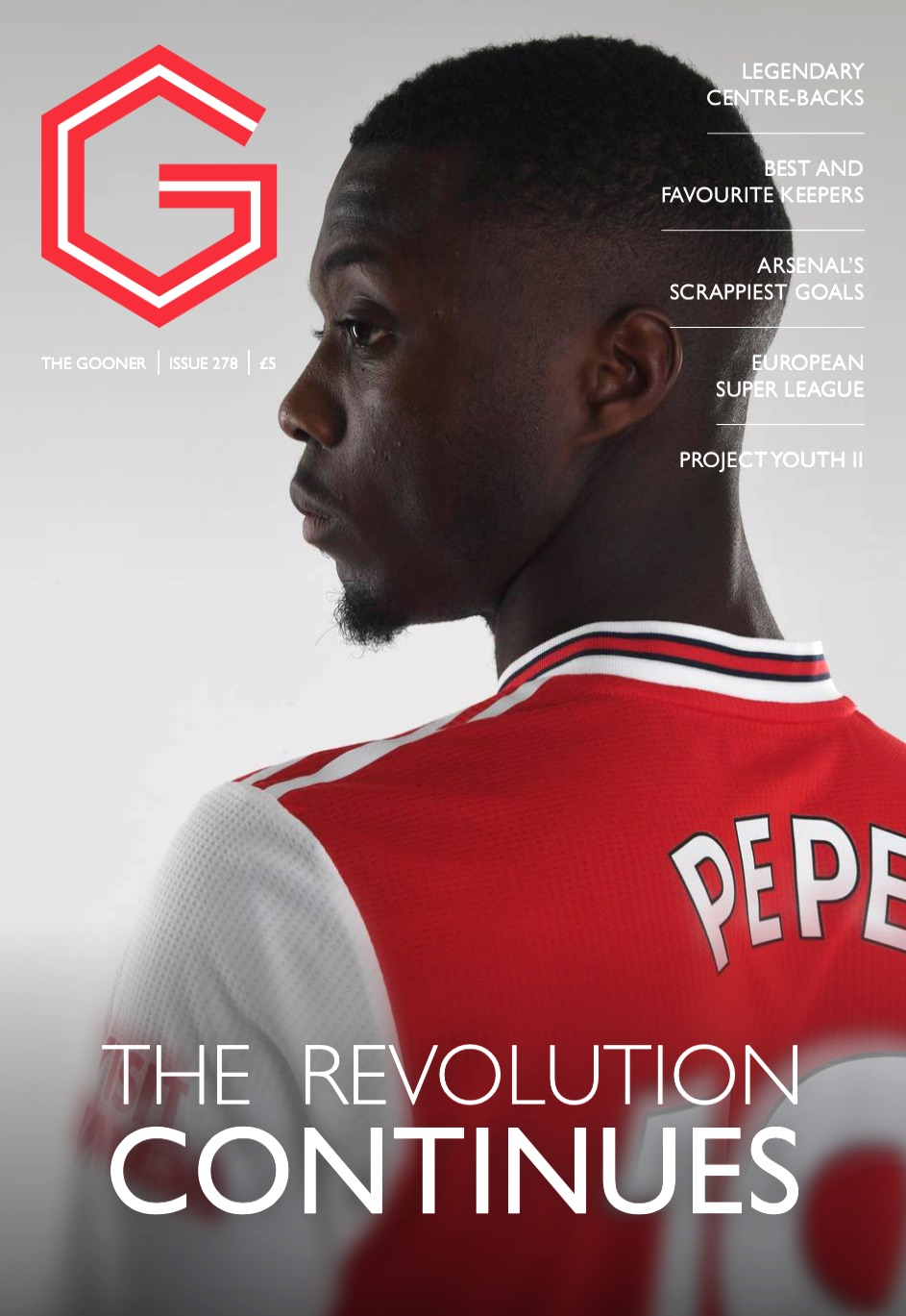Gooner Issue 278 - Front Cover