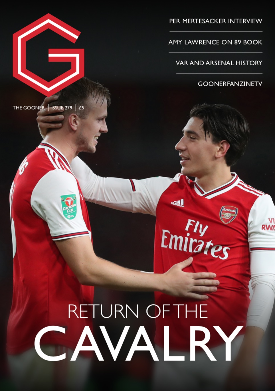Gooner Issue 279 - Front Cover