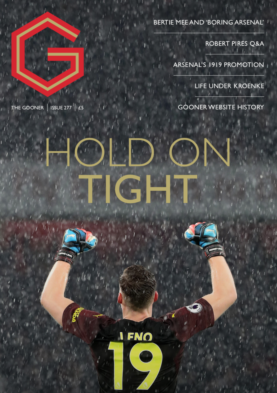 Gooner Issue 277 - Front Cover