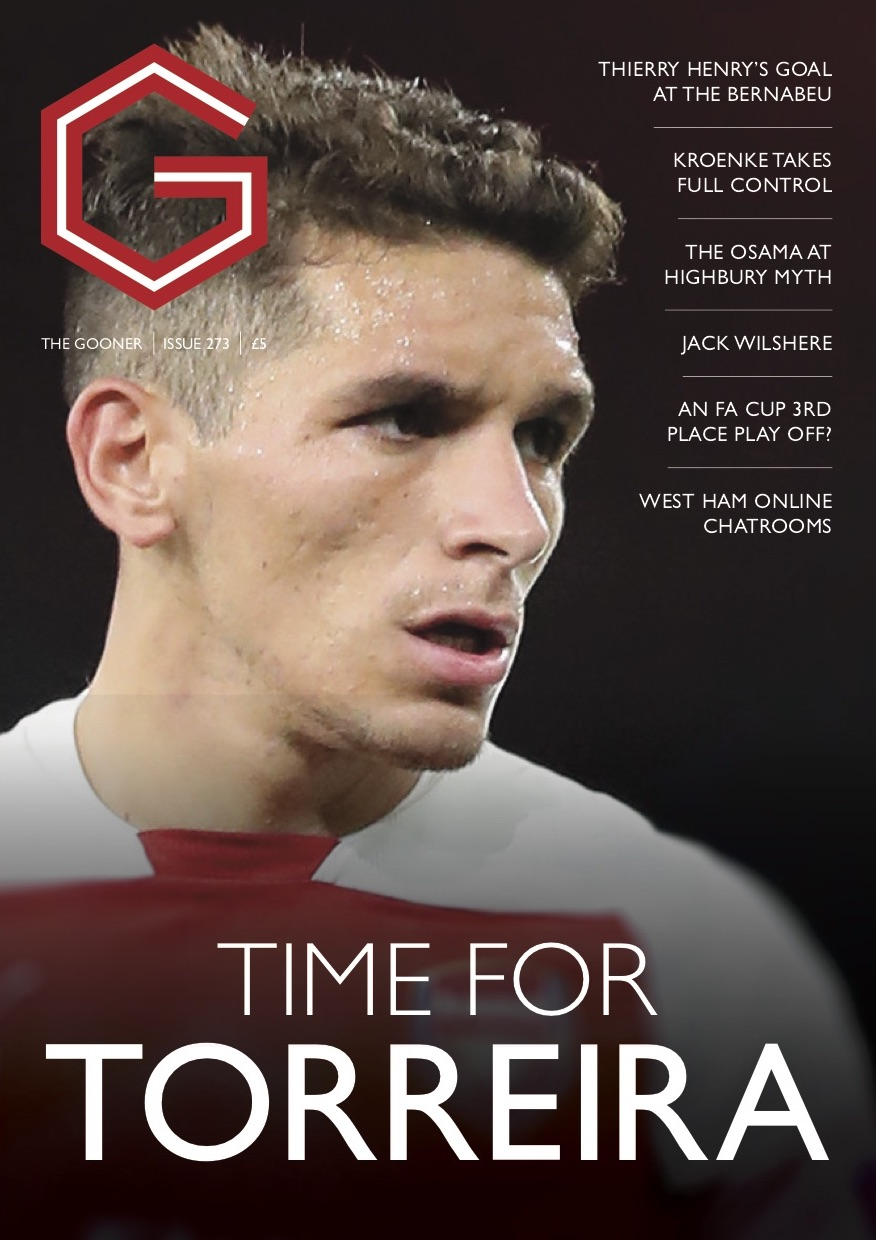 Gooner Issue 273 - Front Cover
