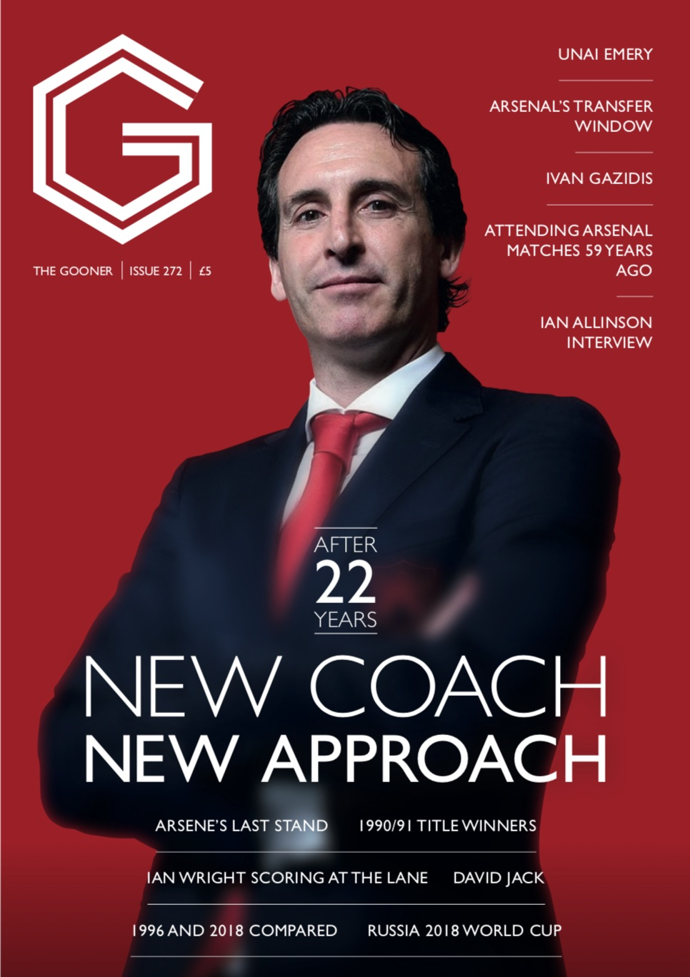 Gooner Issue 272 - Front Cover