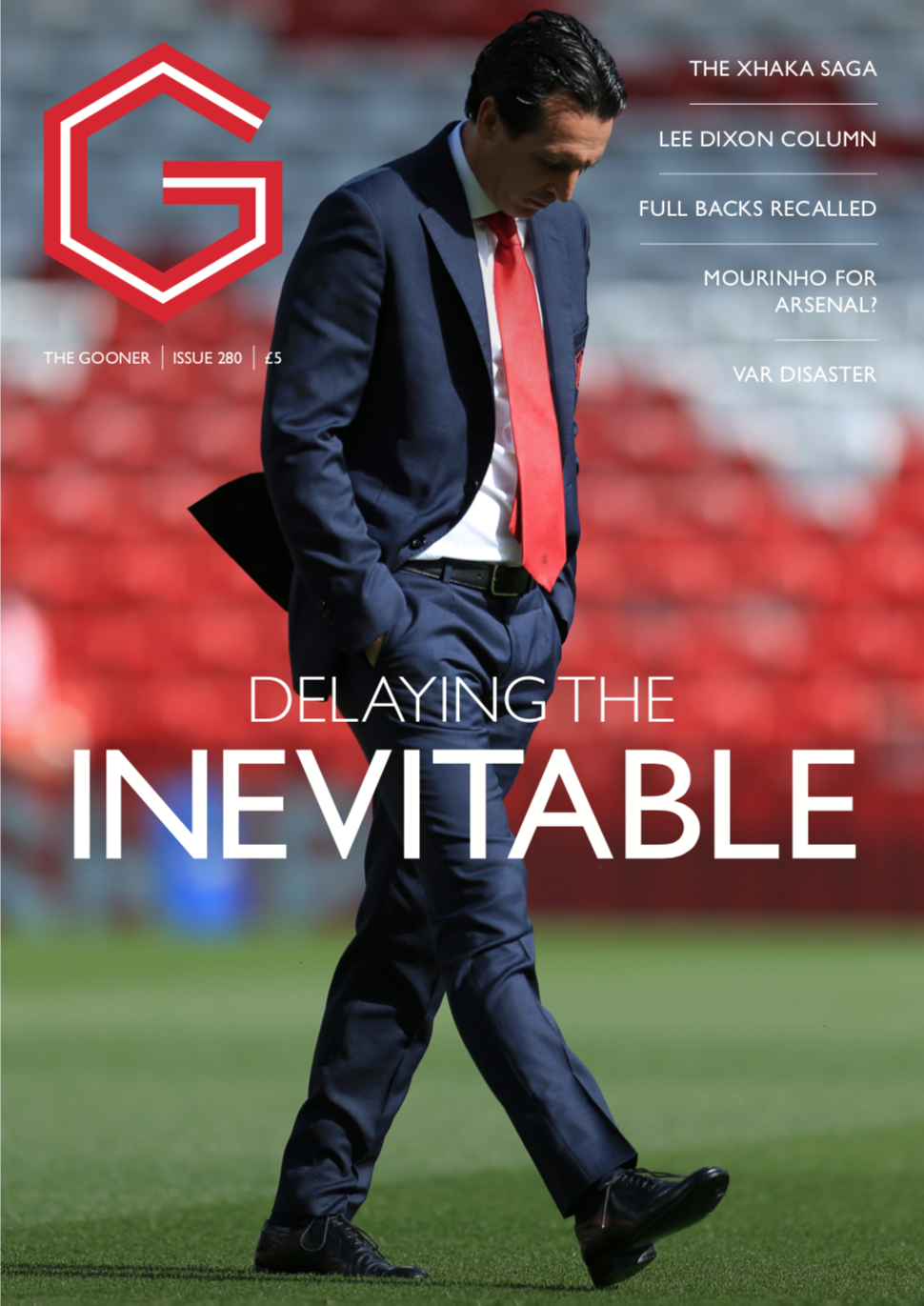 Gooner Issue 280 - Front Cover