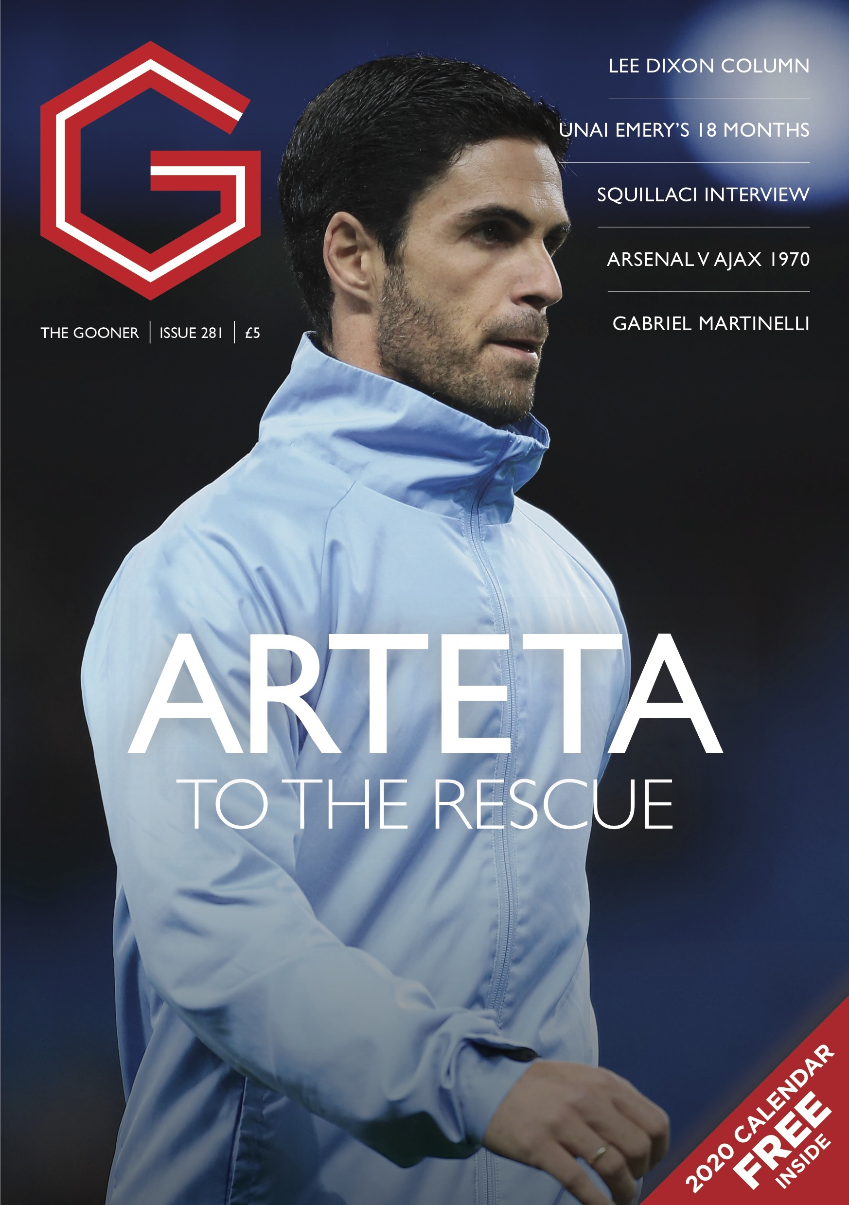Gooner Issue 281 - Front Cover