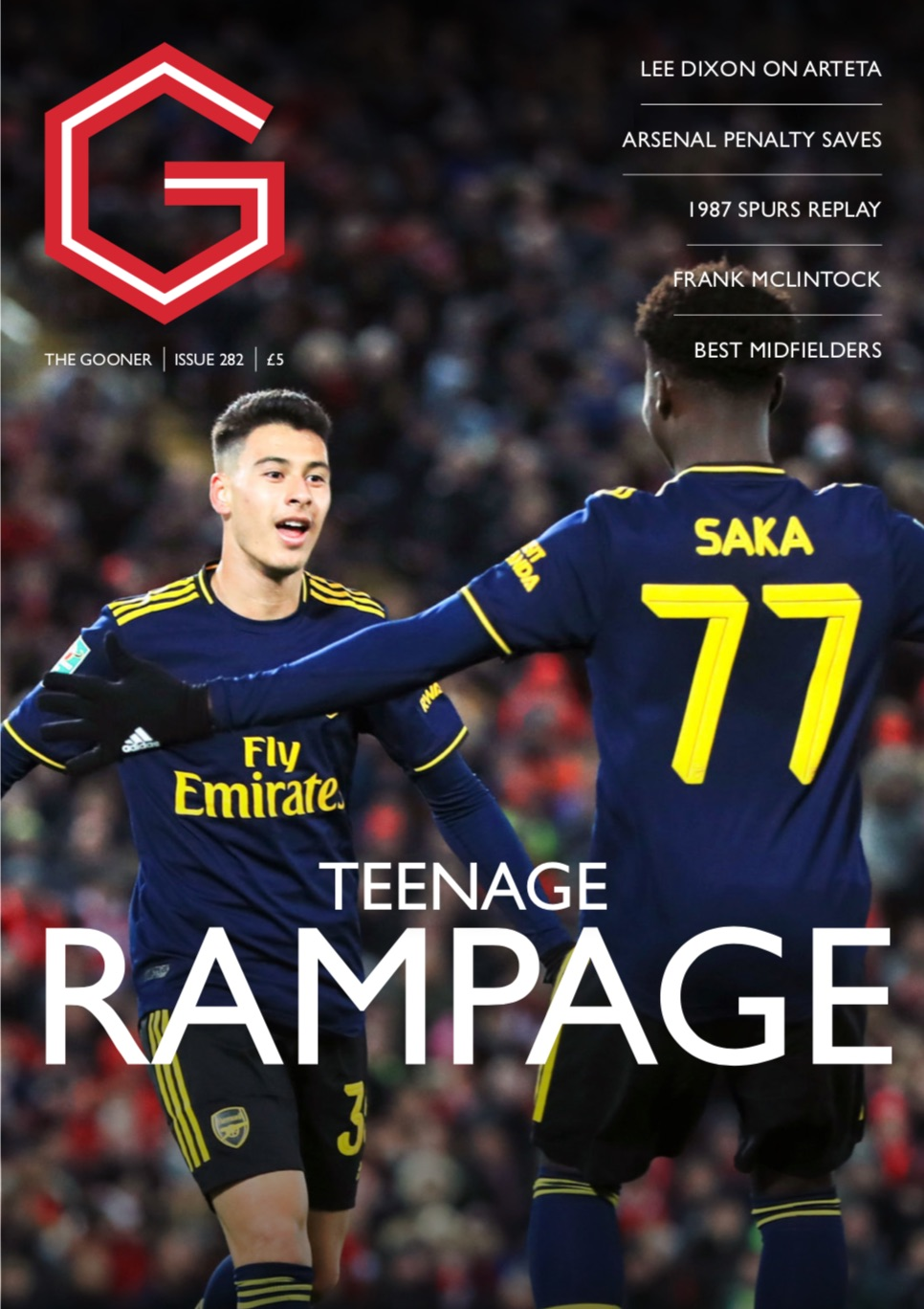 Gooner Issue 282 - Front Cover