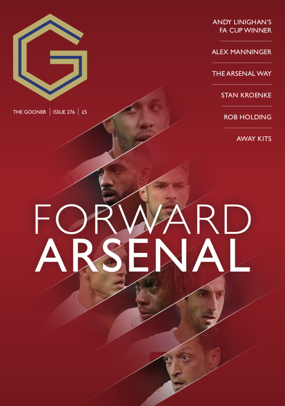Gooner Issue 276 - Front Cover